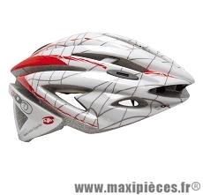 Casque vélo adulte laurent jalabert expertise compétition blanc L marque Oktos- Equipement cycle