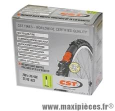 Chambre à air dimensions 700 x 35/43c autoreparante presta marque CST - Pièce vélo
