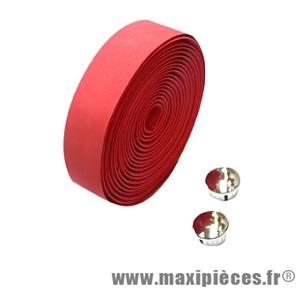 Guidoline maxicork rouge marque Oktos - Pièce vélo