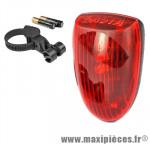 Eclairage arrière basta diodes beamer 4f - Accessoire Vélo Pas Cher