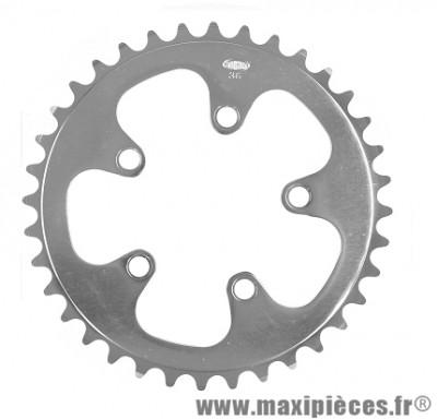 Plateau 36 dents d.74 zicral sh/ca marque Stronglight - Pièce vélo