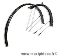 Garde boue vélo paragon c50 noir (la paire) marque Zéfal - Matériel pour Vélo