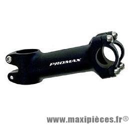 Potence ahead-set alu 1 pouce 1/8 110mm 10° cintre diamètre 25,4mm - Accessoire Vélo Pas Cher