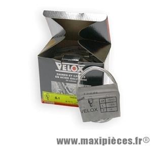 Câble de frein vélo tradi ø15/10ème x 1,80m (boite de 25) marque Vélox