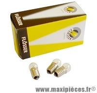 Ampoule 6 volts 0,6w ep10 import arrière vélo (boite de 10) - Accessoire Vélo Pas Cher