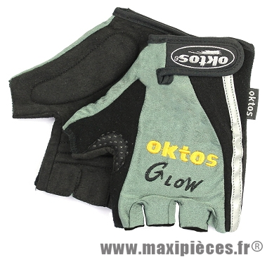 Gants de vélo glow marque Oktos- Equipement cycle