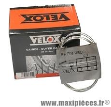 Câble de frein vélo galva 1,80m VTT 7x6 (boite de 25) marque Vélox - Pièce vélo