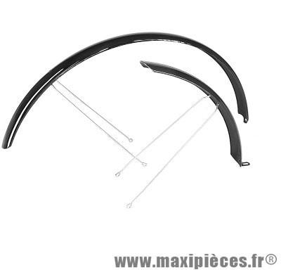 Garde boue vélo tringles 24/26 pouces noir (la paire) - Accessoire Vélo Pas Cher