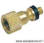 Adaptateur de valve presta/shrader a clapet marque Algi - Pièce vélo