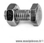 Boulon 6 pans 4x10 + écrou - Accessoire Vélo Pas Cher