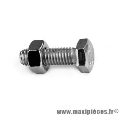 Boulon 6 pans 6x20 - Accessoire Vélo Pas Cher