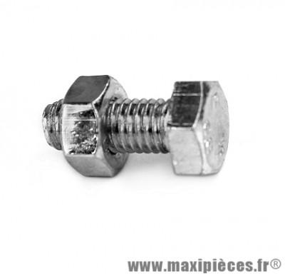 Boulon 6 pans 8x20 - Accessoire Vélo Pas Cher
