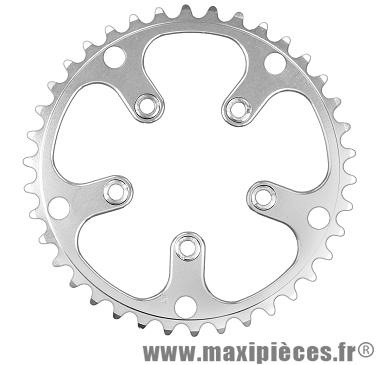 Plateau 39 dents zicral diamètre 130/74mm marque Stronglight - Pièce vélo