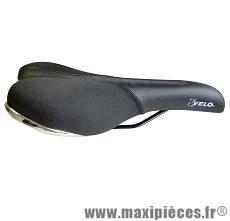 Selle de vélo confort transam mousse extra légère noire marque Cycle Quest - Pièce vélo