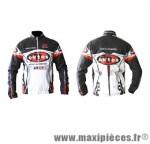 Blouson windtex hiver noir/rouge/blanc s marque Oktos- Equipement cycle