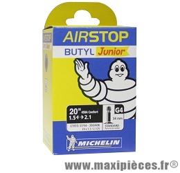 Chambre à air de 20 pouces/450 g4 standard marque Michelin - Pièce vélo