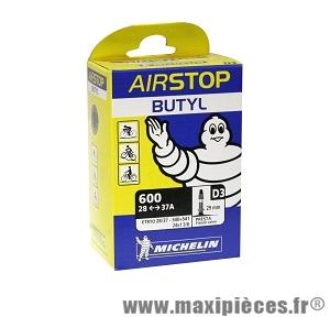 Chambre a air 600a 28/37 d3 presta (24-6m) marque Michelin - Pièce vélo