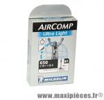 Chambre à air dimensions 650 x 18/23 b1 ultra-light presta (26-4m) marque Michelin - Pièce vélo