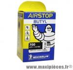Chambre à air dimensions 700 x 25/32 a2 presta marque Michelin - Pièce vélo