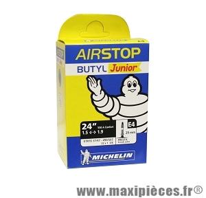 Chambre à air de 24 pouces/550a confort e4 presta marque Michelin - Pièce vélo