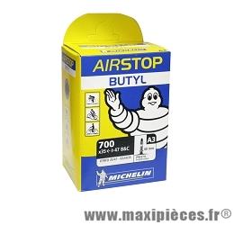 Chambre à air dimensions 700 x 35/47 a3 presta marque Michelin - Pièce vélo