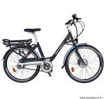 Vélo ville 26 pouces électrique gris modèle easy - Pièces et Vélos Starway