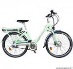 Velo ville 26 pouces électrique vert clair modèle easy - Pièces et Vélos Starway
