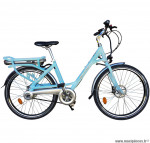 Velo ville 26 pouces électrique bleu clair modèle easy - Pièces et Vélos Starway
