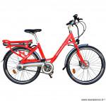 Velo ville 26 pouces électrique rouge agrume modèle easy - Pièces et Vélos Starway