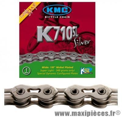 Chaîne de vélo BMX k710 sl kool séries 100m marque KMC - Matériel pour Vélo