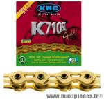 Chaîne de vélo BMX k710 sl ti-n or kool séries 100m marque KMC - Matériel pour Vélo