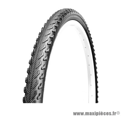 Pneu pour vélo de taille 20 x 1,75 mixte noir marque Deli Tire