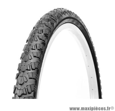 Pneu pour cycle de dimension 24 x 1,95 VTT noir marque Deli Tire