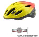 Casque vélo adulte v17 jaune/rouge m marque Oktos- Equipement cycle