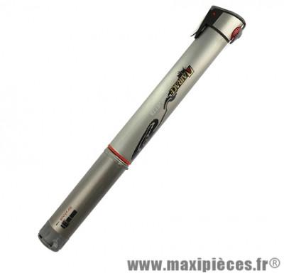 Mini pompe dual jet ts (pneu 5.5 bars et fourche 21 bars) marque Airace - Accessoire vélo