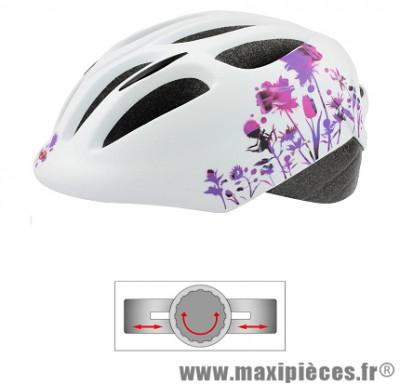 Casque vélo adulte city blanc l (58-61) marque Oktos- Equipement cycle