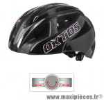 Casque vélo adulte city map double inmold noir l (58-62) marque Oktos- Equipement cycle