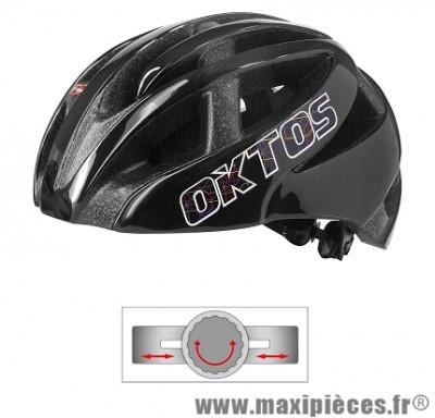 Casque vélo adulte city map double inmold noir m (52-58) marque Oktos- Equipement cycle