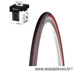 Pneu 700 x 23 lithion 2 rouge marque Michelin