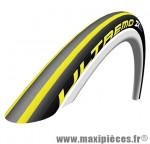 Déstockage ! Pneu de vélo Schwalbe Ultremo ZX 700x23C HD Speed Guard (ETRTO 23-622) noir et jaune