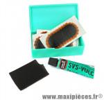 Nécessaire réparation tt01 (boite) - (rustines + tube dissolution) marque Tip-Top - Accessoire vélo