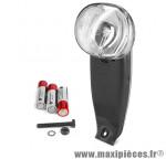 Eclairage avant luceo xb (bouton on / off, avec piles) marque Spanninga - Matériel pour Vélo