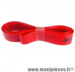 Déstockage ! Fond de jante (x2) Herrmans 16mm x 622/700C/28 pouces - Rouge - max 8 bar