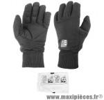 Gants de vélo hiver nylon/hipora - Accessoire Vélo Pas Cher