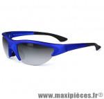 Lunettes vélo bleu - verre fume - Accessoire Vélo Pas Cher