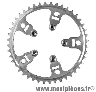 Plateau 38/41 dents vento porteur diamètre 74mm/diamètre 135mm de marque Spécialités TA - Pièce vélo