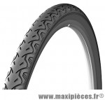 Pneu de vélo dimension 26 x 1,40 city noir marque Michelin