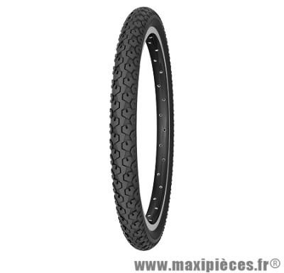 Pneu pour cycle de dimension 24 x 1,75 country j noir marque Michelin