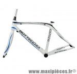 Cadre course 8avio blanc bleu (taille 48) marque Bottecchia - Matériel pour Vélo