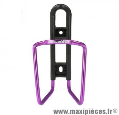 Porte bidon fil VTT anodise marque Zéfal - Accessoire vélo